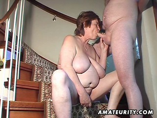 heavy amateur wife toys and sucks and takes