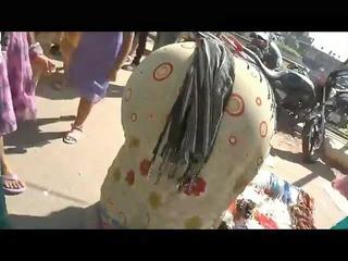 grown-up indian bend over street bottom