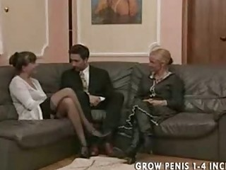 elderly and mature babe into pantyhose pierce