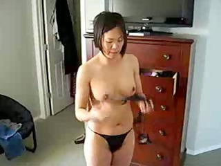desperate chinese milf demonstrates titght body