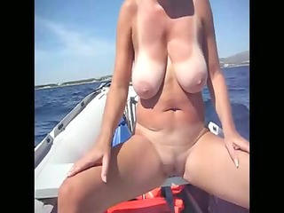 inexperienced beach voyeur big tits woman