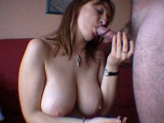 charming mature babe drools all over dick