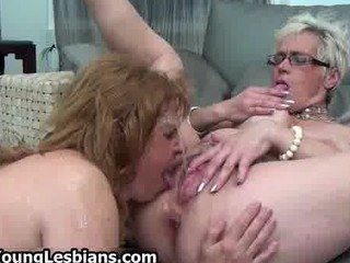 desperate grownup maiden squirts all over her
