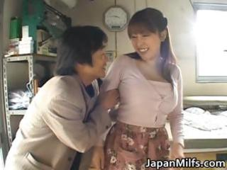 horny japanese milfs licking and piercing part1