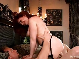 naughty rufous woman into nylons acquires rammed