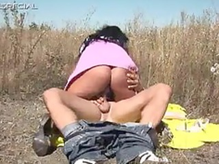 slutty lady gets banged uneasy  al fresco free
