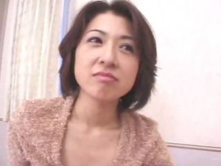 a japanese milf picked up