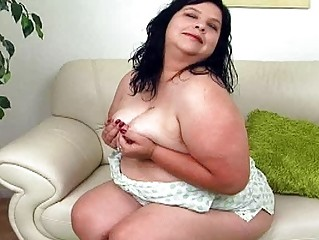 big ebony haired lady with giant bosom sticks