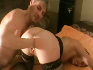 brutally fisting the wifes loose kitty