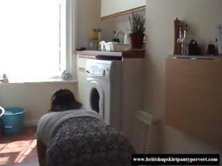 european amatuer elderly turned inside a panty