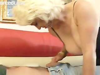 cougar dana hayes swallows white cream