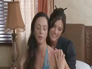 india and arella are two horny lesbian chicks