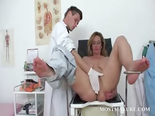 furry cougar pussy vibed at the doctor