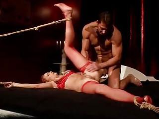 cougar lady obtaining bondaged