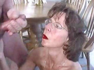 cougar head #11 (massive facial)