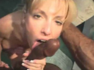 clean woman acquires creampied