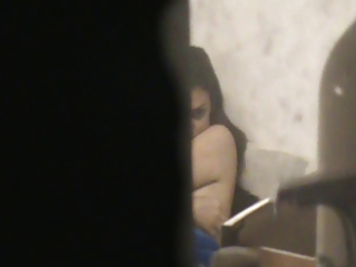neighbor lady spied on through window voyeur pt. 3