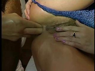 mum adores cock, finger into bottom &; cave