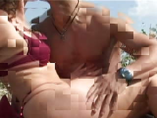 older  with lil boobs large breast obtains gang