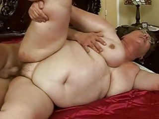 ugly heavy elderly acquires pierced gorgeous