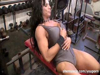 rhonda lee quaresma  cougar muscle
