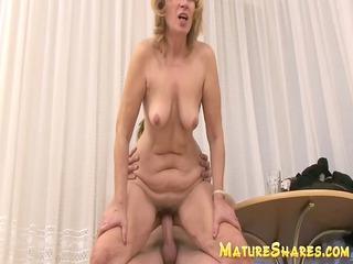 plump young elderly inside tough sex