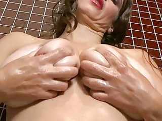 lusty large boobed mature babe bitch pleases