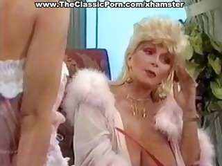 slutty older  classic blonde star gives a hot