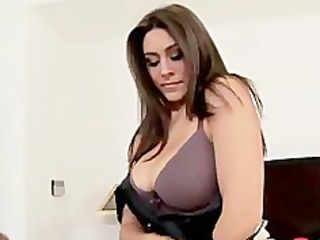 great lady masturbate before bang