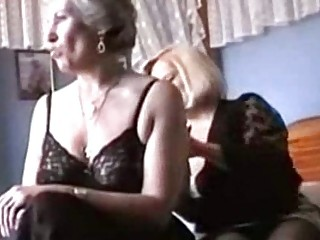 two grannies please into underwear and nylons