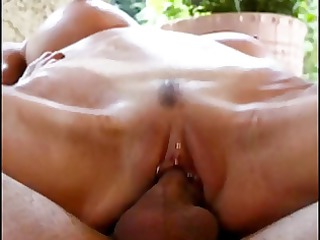 athletic grownup bitch obtains lengthy cock and