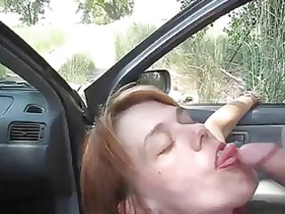 fresh mature babe blow labor outside eats cumshots