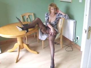 cougar shape stocking pantyhose go naked