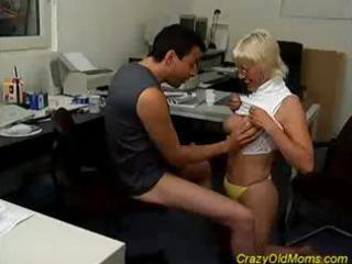 pale insane old mom cock sucking