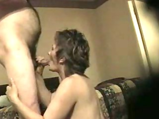 mature babe licking dick
