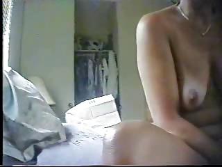 mummy masturbates. super  quality hidden cam