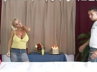 awesome desperate bleached milf getting a awesome