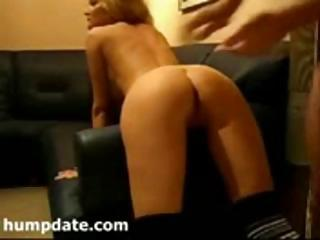 maiden with a lovely bottom obtains it gangbanged