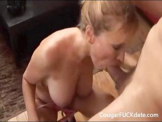 older gives a super blowjob