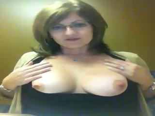 webcam flash breast