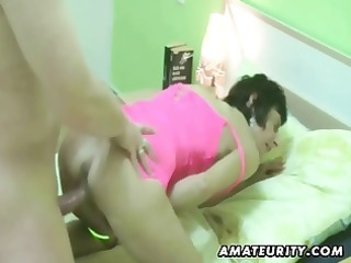 amateur lady  hardcore with double cumshots