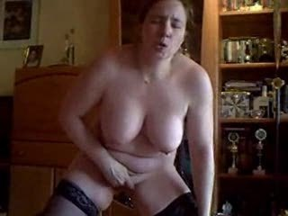 house made video. housewife masturbate standing