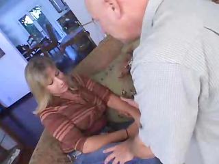 mature pair go for some hot licking and drilling