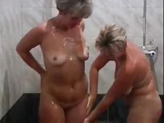 two awesome older  chick with a amateur male