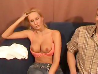 blonde dutch milf with pretty chest acquires