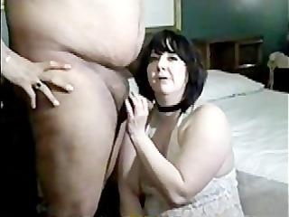 another woman smoking cock sucking