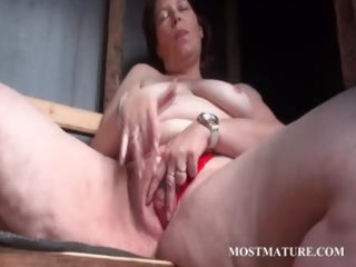 public bitch masturbation with grownup