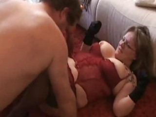 plump and horny inexperienced woman licks and