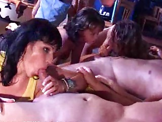 woman sisters daughters pierce at a fuck gathering
