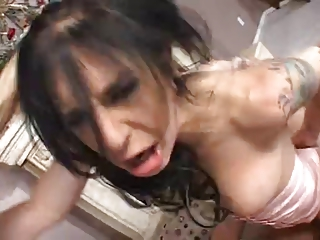 desperate and sweet lady takes tight drilled